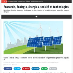 Guide solaire 2020