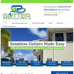 Copper Gutters Installation Services