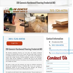 Hardwood Works Frederick MD