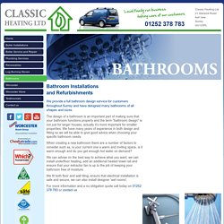Bathroom Installation, Shower Fitting Ash Vale, Refurbishments Basingstoke