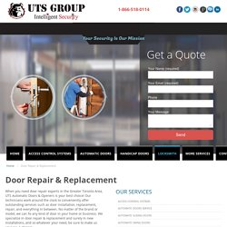 Garage Door Repair Etobicoke