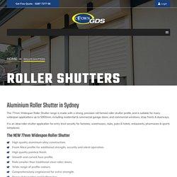 Aluminium Roller Shutter Sydney