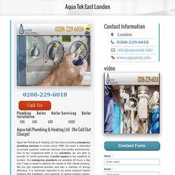 Boiler Installers London