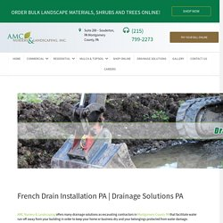 Drainage Solutions Montgomery PA