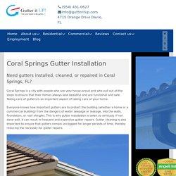 Gutters Coral Springs
