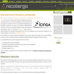 Installation pas à pas d'un serveur de supervision Icinga