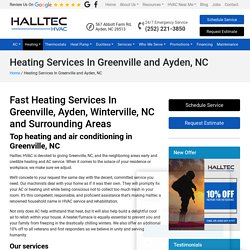 Heating Services In Greenville/Ayden, NC