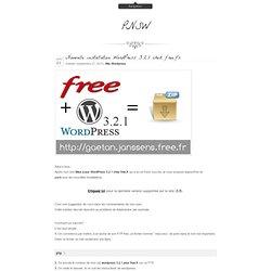 Petit_Nuage's Stunning World » Nouvelle installation WordPress 3.2.1 chez free.fr