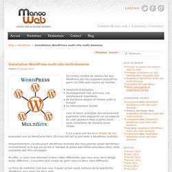 Installation WordPress multi-site multi-domaine