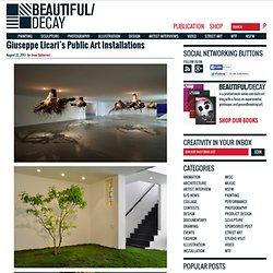 Giuseppe Licari's Public Art Installations