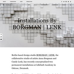 Installations By BORGMAN