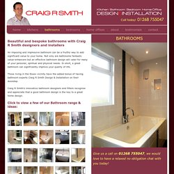 Bathroom Installations, Bathroom Fitter Installer in Essex