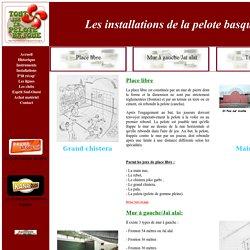 Tout sur la pelote basque: les installations, l'histoire, les instruments, les ligues et clubs