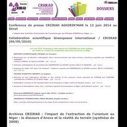 Actualités - Dossiers2005