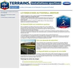 Terrains & Installations Sportives - Saison 2013-2014 - N°1 - Mars 2014