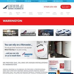 Aquila Heating- Gas, Oil and LPG Boiler Installations Warrington