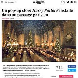 Un pop-up store Harry Potter s'installe dans un passage parisien