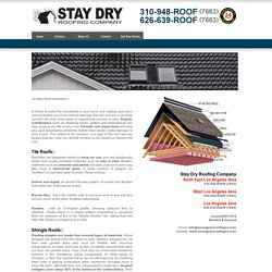 New Roof Installation - New Roof Estimate - Los Angeles