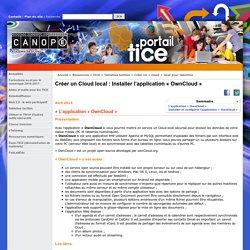 Créer un Cloud local : Installer l'application « OwnCloud »