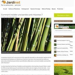 Comment installer une barrière anti-rhizomes ? - Le blog de Jardinet.fr