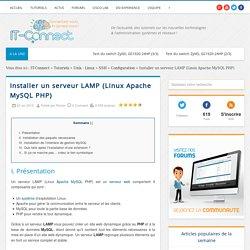 Installer un serveur LAMP (Linux Apache MySQL PHP)