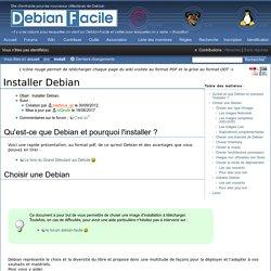Installer Debian / Wiki / Debian-facile
