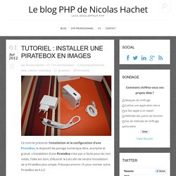 Tutoriel : installer une PirateBox en images