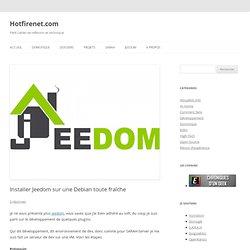 Installer Jeedom sur une Debian toute fraîche