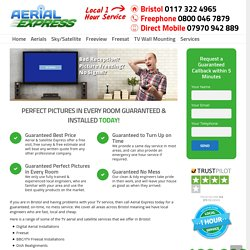 Bristol Aerial Installer: Freesat, Freeview, Sky TV & Aerial Services