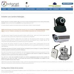Installer une caméra hébergée