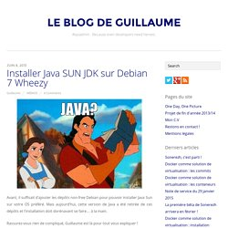 Installer Java SUN JDK sur Debian 7 Wheezy