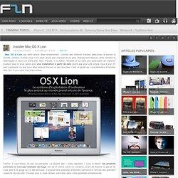 Installer Mac OS X Lion