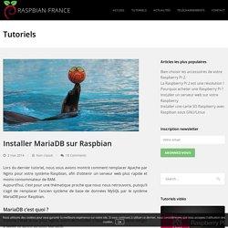 Installer MariaDB sur Raspbian