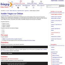 Installer Nagios sur Debian — Biapy Help Desk