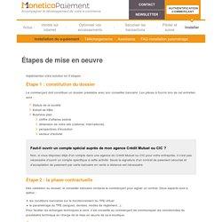Installer la solution de paiement en ligne - Monetico Paiement
