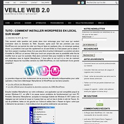 Tuto : comment installer Wordpress en local sur WAMP
