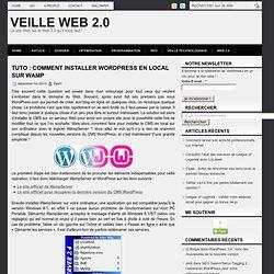 Tuto : comment installer Wordpress en local sur WAMP