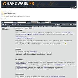 Installer xpenology sur HP proliant N40L. - Réseaux - Réseaux grand public / SoHo