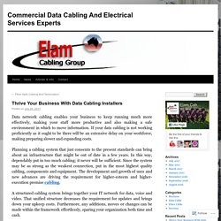Commercial Data Cabling And Electrical Services Experts