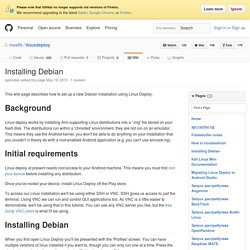 Installing Debian · meefik/linuxdeploy Wiki