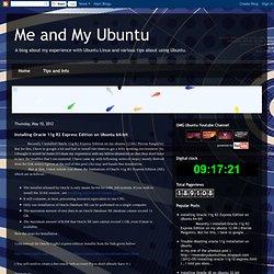 Installing Oracle 11g R2 Express Edition on Ubuntu 64-bit