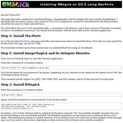 Installing RMagick on OS X using MacPorts