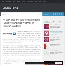 An Easy Step-by-Step to Installing and Running Roundcube Webmail on Ubuntu/Linux Mint