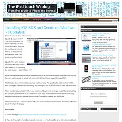 The iPod touch Weblog - Apple News, Tricks, and Themes