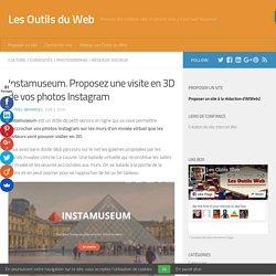 Instamuseum. Proposez une visite en 3D de vos photos Instagram