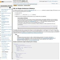 SSL on Single-Instances of Node.js - Elastic Beanstalk