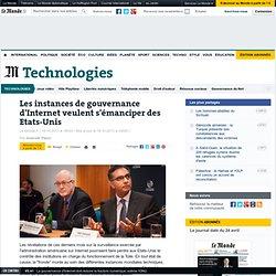 Les gouvernances d'Internet et Etats-Unis