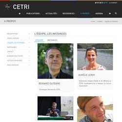 L'équipe, les instances - CETRI, Centre Tricontinental