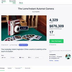 The Lomo'Instant Automat Camera by Lomography