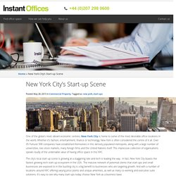 New York City's Start-up Scene
